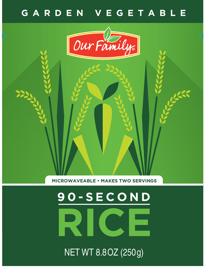 Our Family 90 second Rice