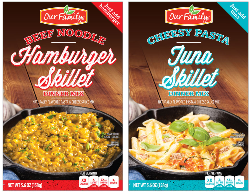 Our Family Skillet Dinners