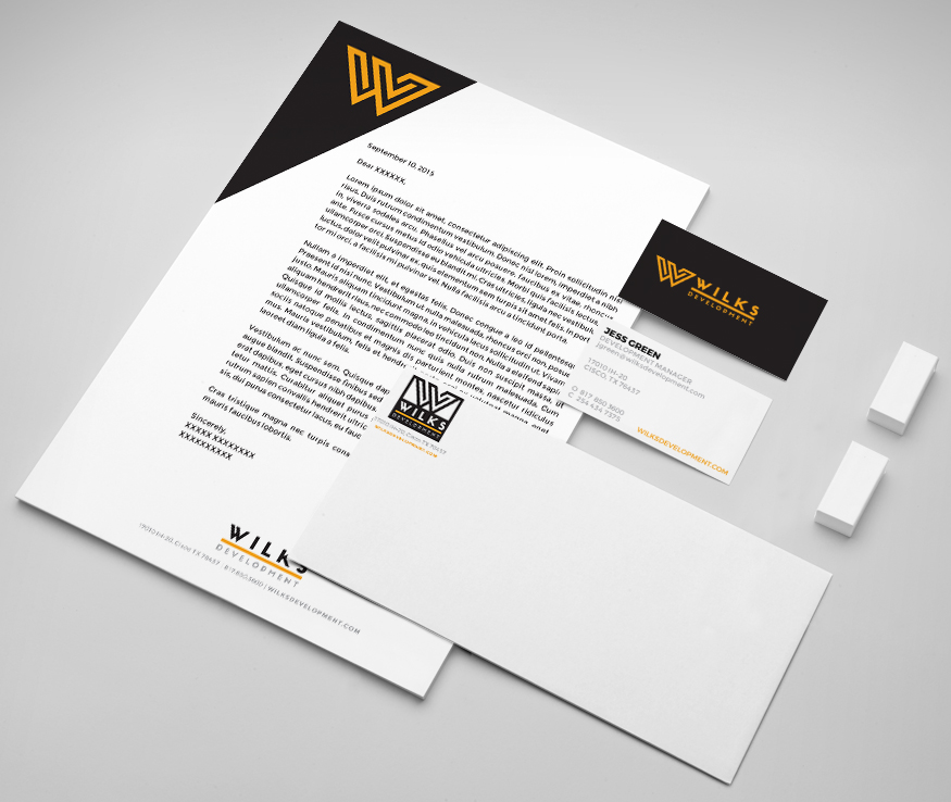 Wilks Development Branding