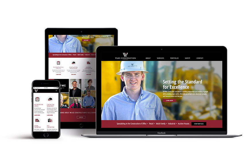 Wilks Construction Web