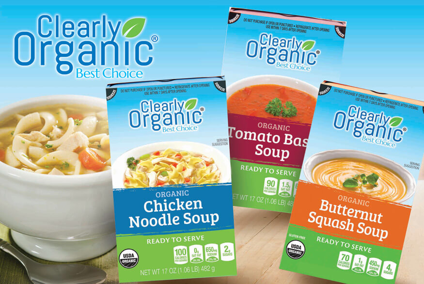 Clearly Organic Products