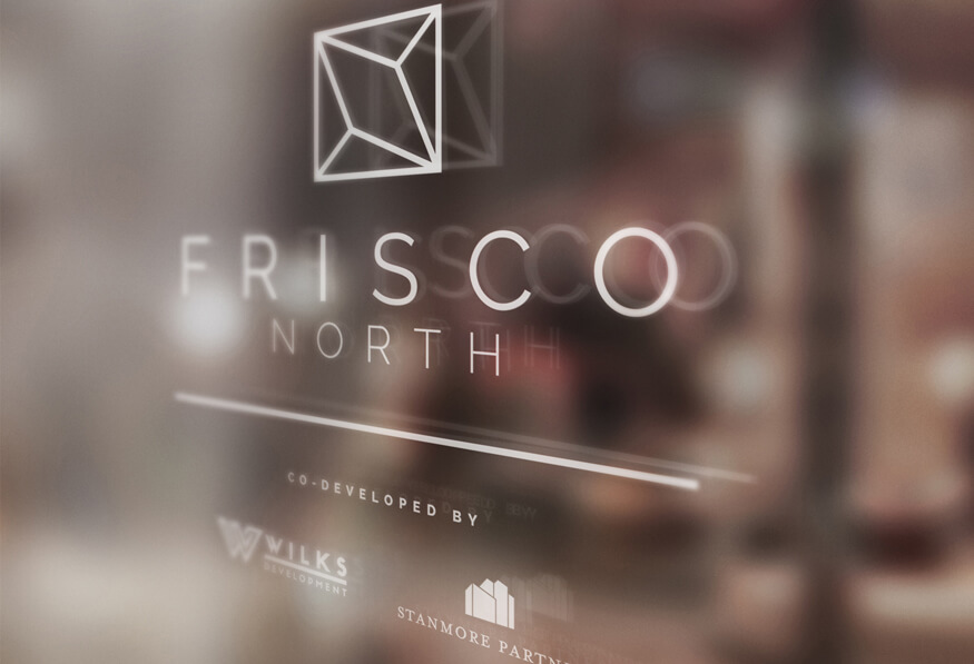 Frisco North Window Signage