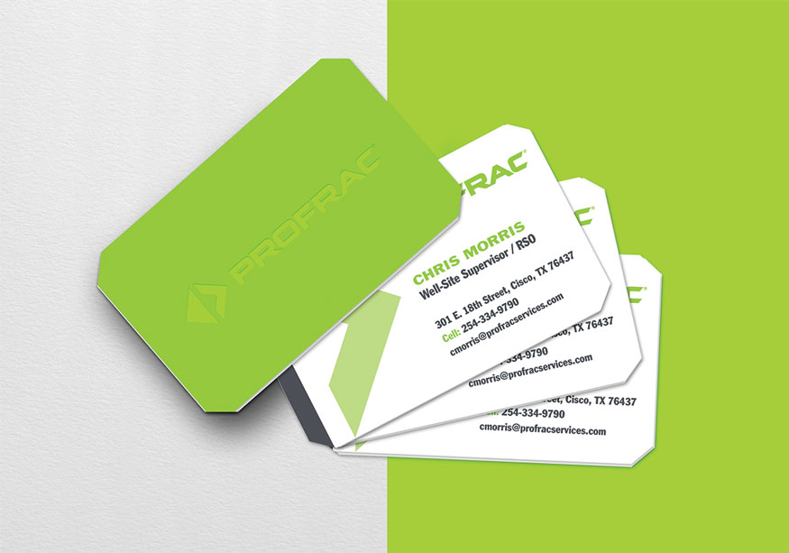 Profrac Business Cards
