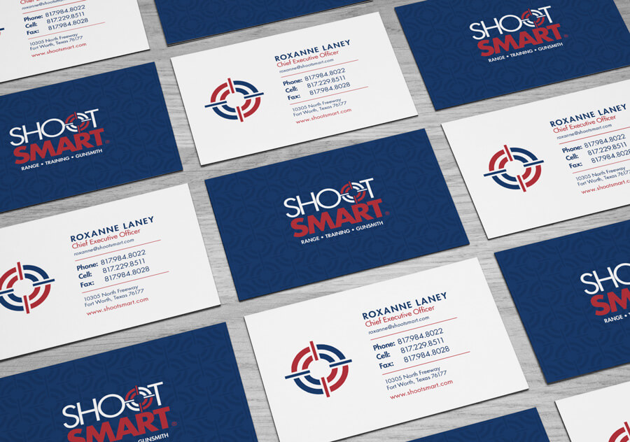 Shoot Smart Business Cards