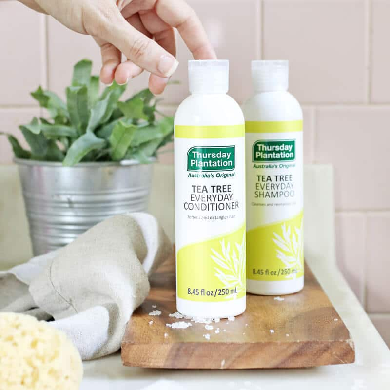 Thursday Plantation Tea Tree Shampoo and Conditioner